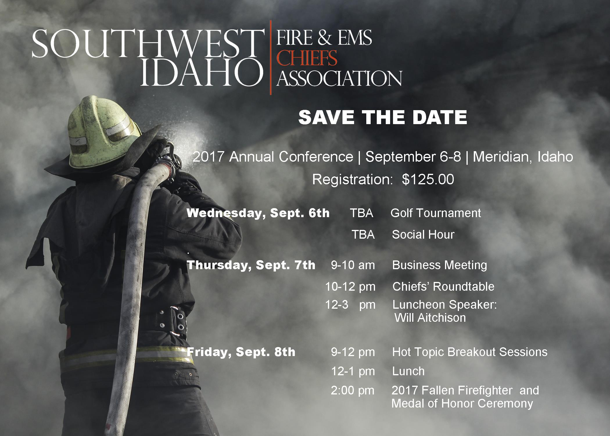 Annual Conference (Quarterly Meeting #3) - SW Idaho Fire